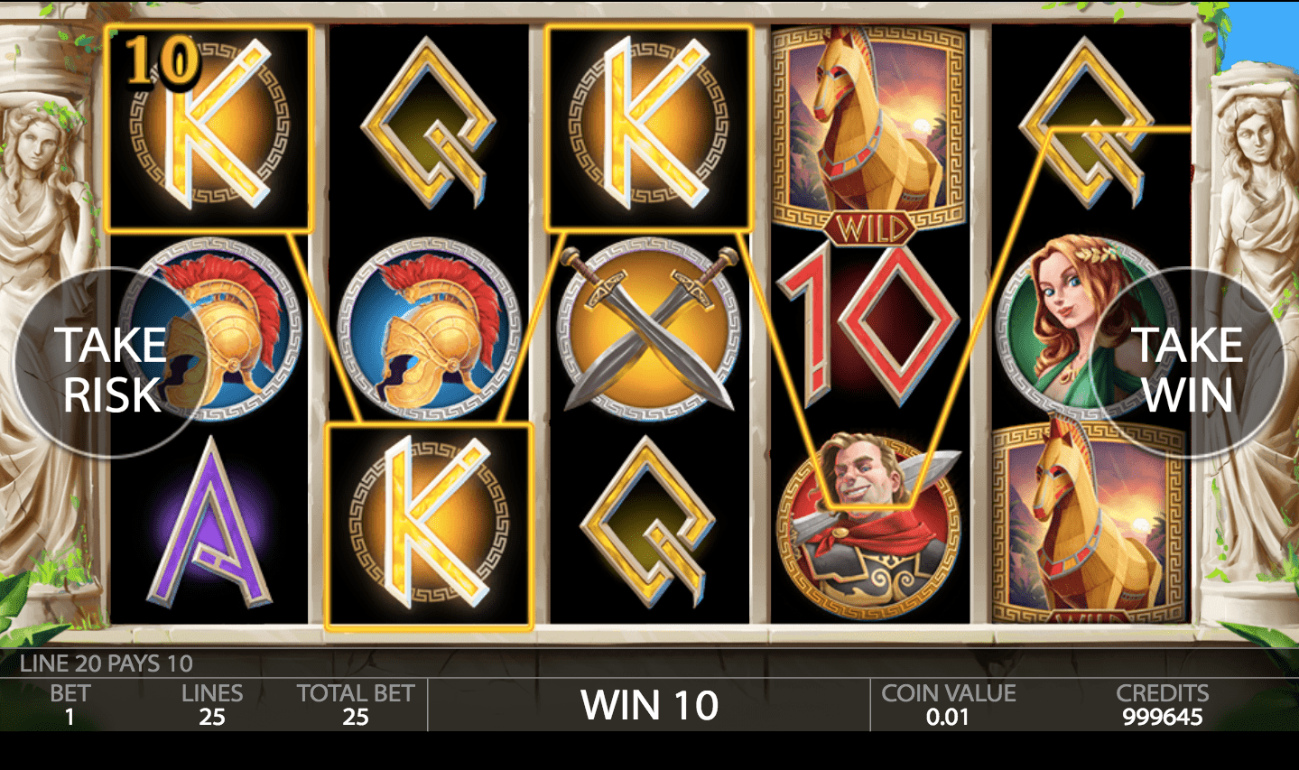 Ancient Troy graphics look accordingly to the theme, with a user-friendly interface.