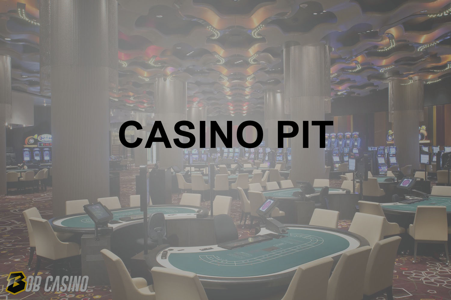 Casino Pit Term For Hall With Casino Tables