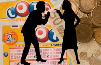 A man will have to pay $24 million from his lottery win to ex-wife.