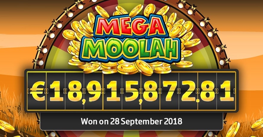 Mega Moolah jackpot is one of the biggest ever, making the game one of the best-paying slots.