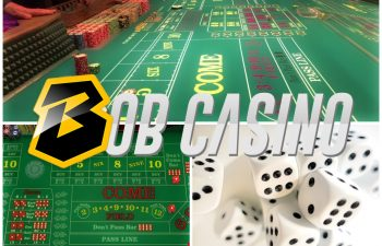The dice and the table illustrate how to play Craps and how to get familiar with the Craps rules.