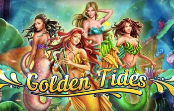 Golden Tides slot is an underwater mermaid paradise from 2by2 Gaming.
