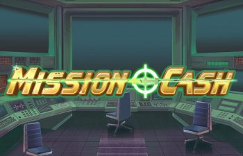 The logo of Mission Cash slot from Play'N Go fitting into our review.