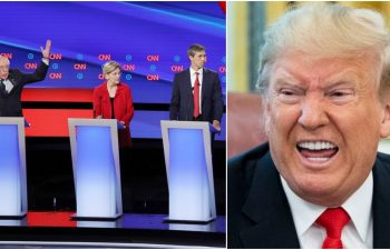 Democratic candidates envy Trump as his odds of being the US President in 2020 rise after debates.