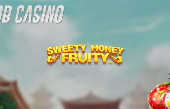 Sweet fruit and coins waiting for the winner of the new Sweet Honey Fruity slot from NetEnt.