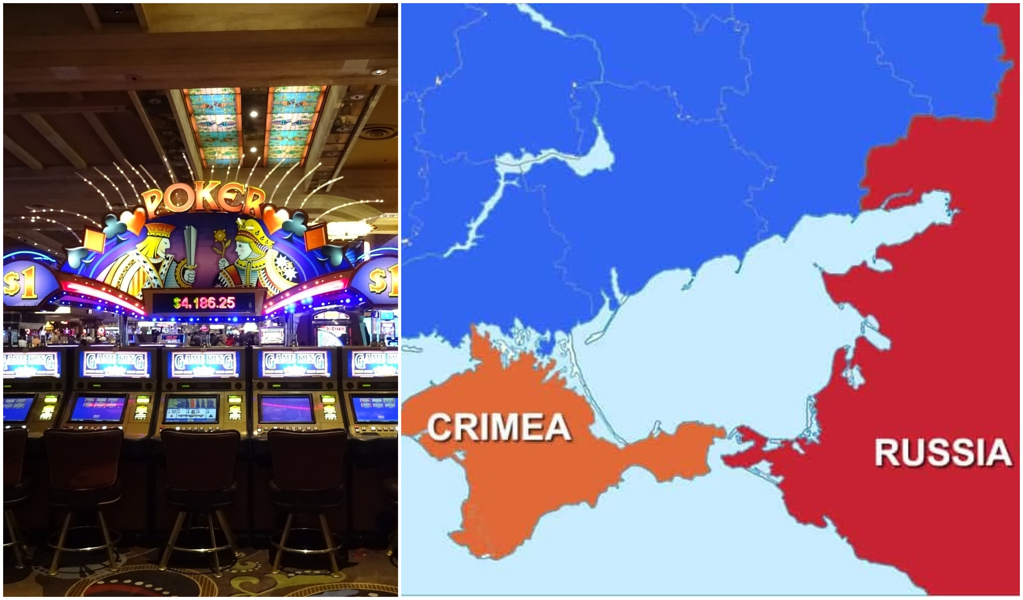 Russian Prime Minister has announced that a gambling zone will be opened in Yalta, Crimea.