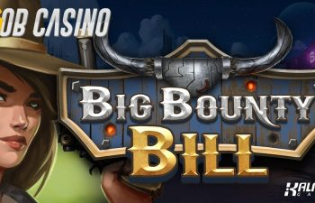 Wild West meets steampunk in the new Big Bounty Bill slot.