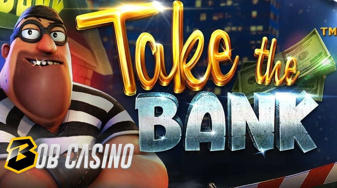 The buff robber on the logo of Take the Bank slot.