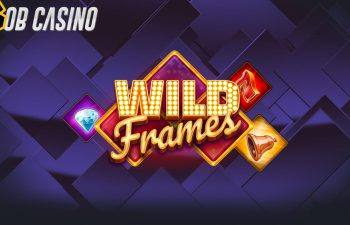 Logo of the new Play'N Go title in Bob's Wild Frames slot review.