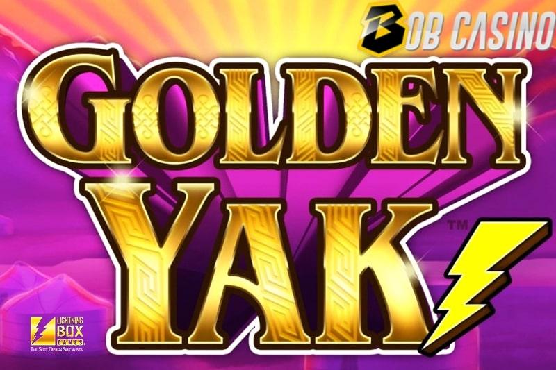 Golden Yak slot logo from Quickfire.
