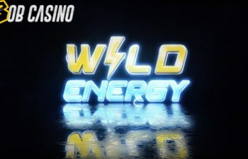 Booming Games' Wild Energy slot logo.