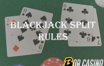 Blackjack: Splitting Rules