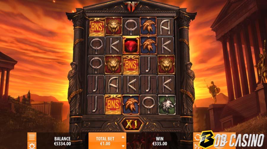 Neros Fortune Online Slot on Bob Casino