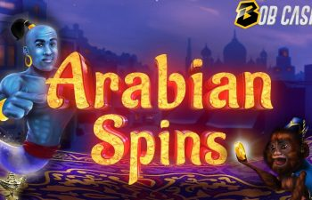 Arabian Spins slot in a review from Bob Casino.