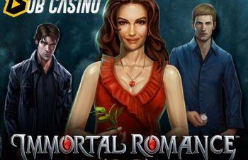 Newly updated Immortal Romance slot from Microgaming.