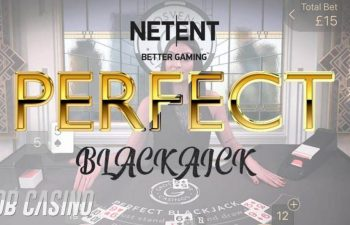 Netent Perfect Blackjack Slot on Bob Casino