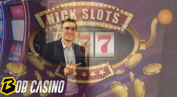 Nick Andreas aka NickSlots - popular YouTube and Twitch casino streamer.