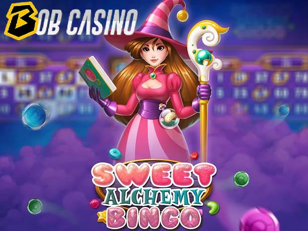 Sweet Alchemy Bingo slot on Bob Casino