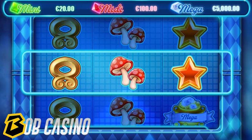 Bonus round in Trollpot 5000 slot on Bob Casino