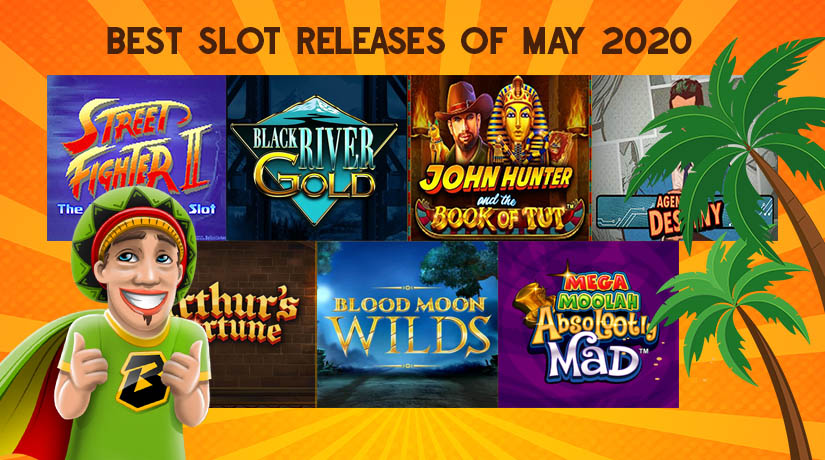 Absolootely, Street Fighter, Blood Moon Wilds are some of the best slots of May 2020.