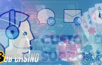 customer support in online casinos