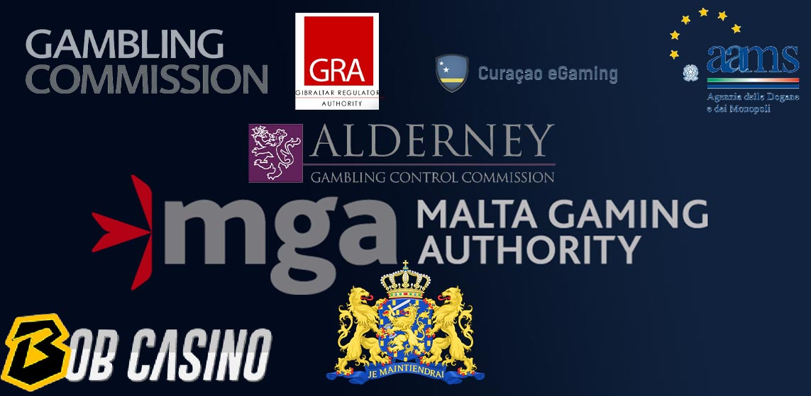 Malta Gaming Authority, UK Gambling Commission are some of the biggest casino license issuers