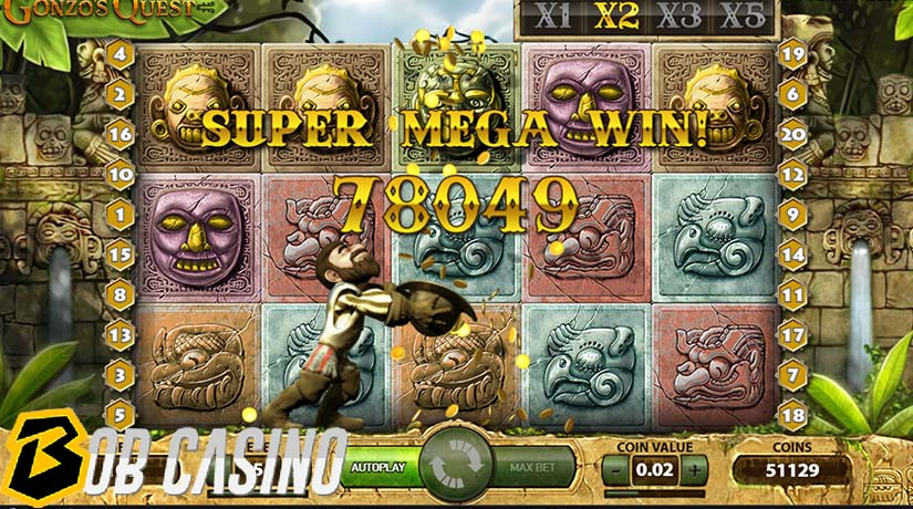 Gonzo's Quest - one of the most popular and best netent slots