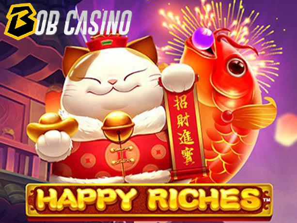 Happy riches slot review on bob casino