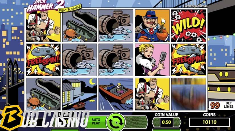 bonus round in jack hummer 2 slot on bob casino