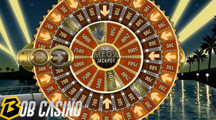 bonus round in mega fortune slot on bob casino