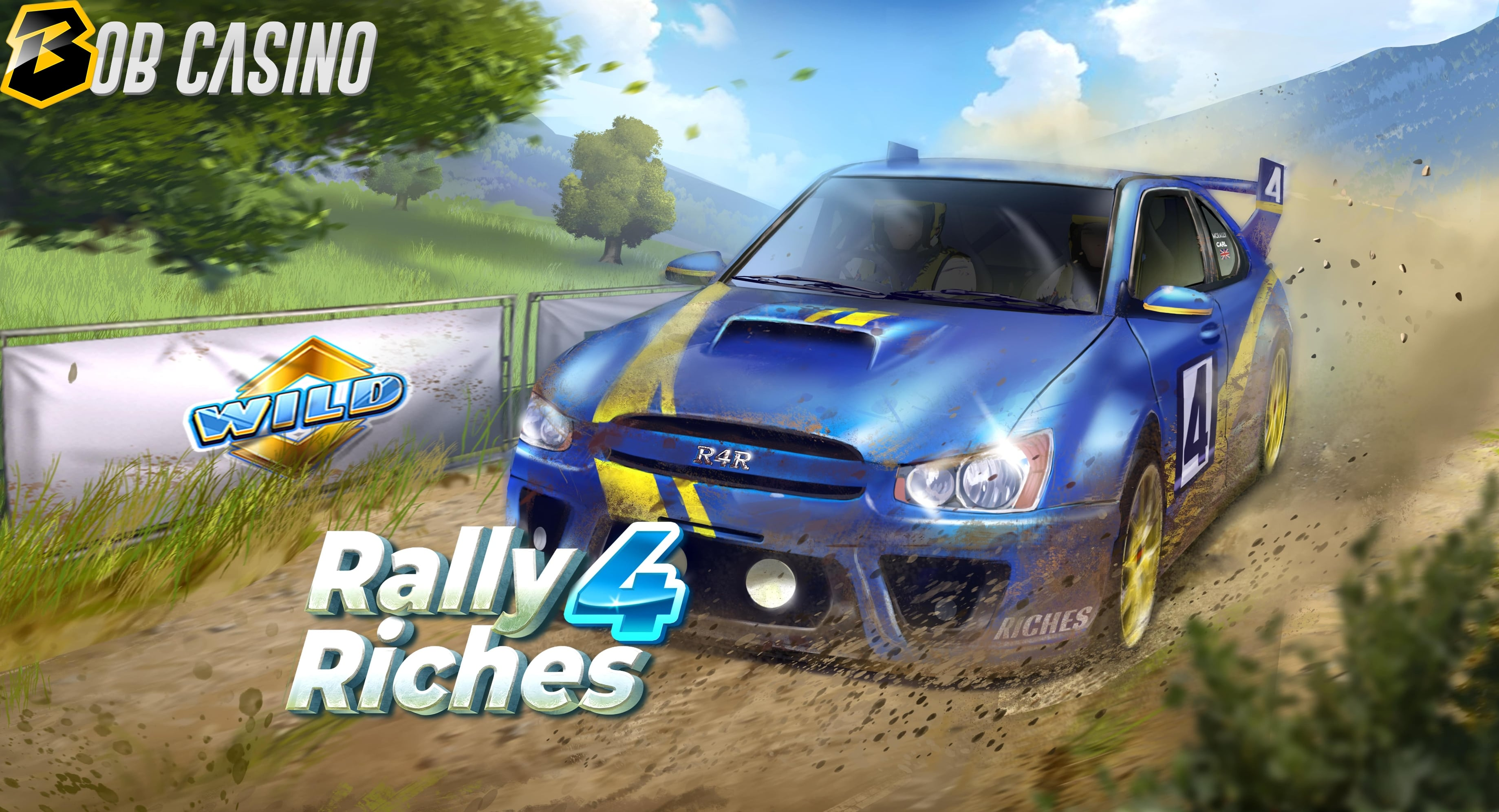 Rally 4 Riches slot game from Play'N Go.