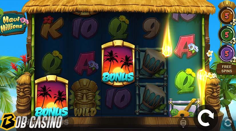 Bonus Round in Maui Millions Slot
