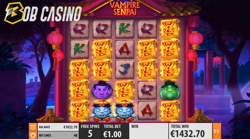 Putaran Bonus di Slot Vampir Senpai