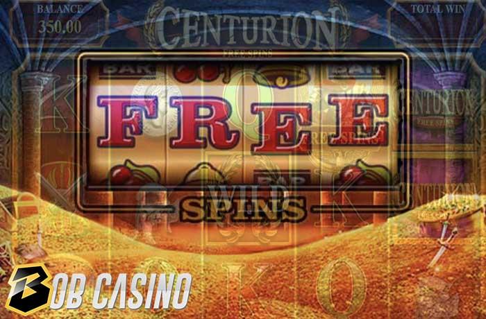 Free spins in centurion slot