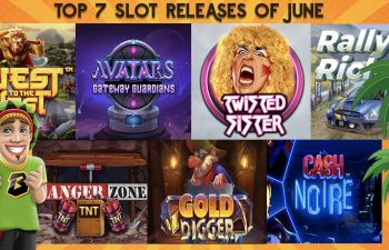 Avatars, Gold Digger, Danger Zone are some of the top 7 slots of june