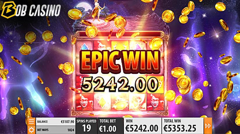 Epic Win in Artemis VS. Medusa Slot