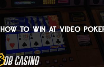 Tutorial on How to Win at Video Poker