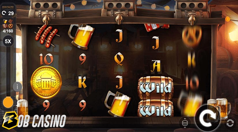 Wild Symbols in the Beers on Reels Slot