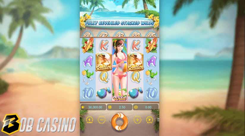 Scatter Symbols in Bikini Paradise Slot