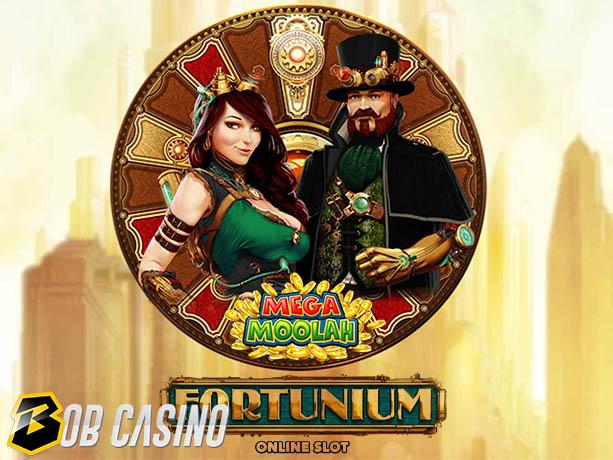 Fortunium Gold Mega Moolah Slot review on Bob Casino