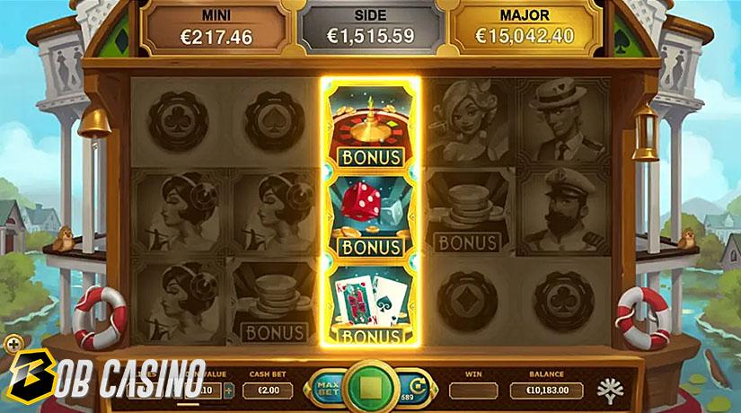 Bonus Round in Jackpot Express Slot