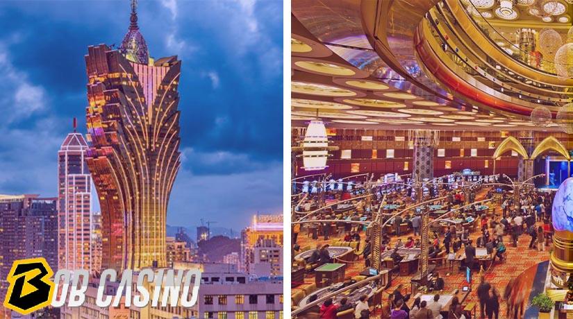 Macau Casino View Outside and Inside
