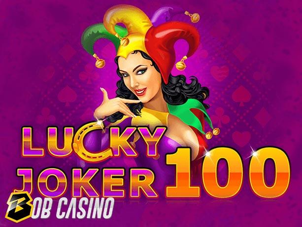 Lucky Joker 100 Slot Review on Bob Casino