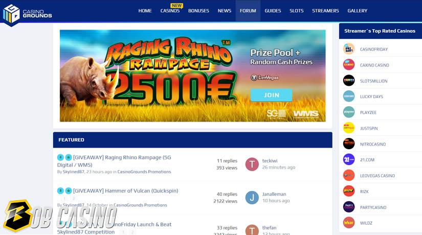 Casino Grounds gambling forum