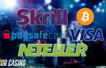Skrill, Bitcoin, Paysafe, Visa and Neteller are the best payment methods in online casino
