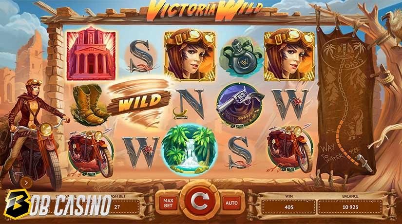 Sandstorm Wild Symbols in Victoria Wild Slot