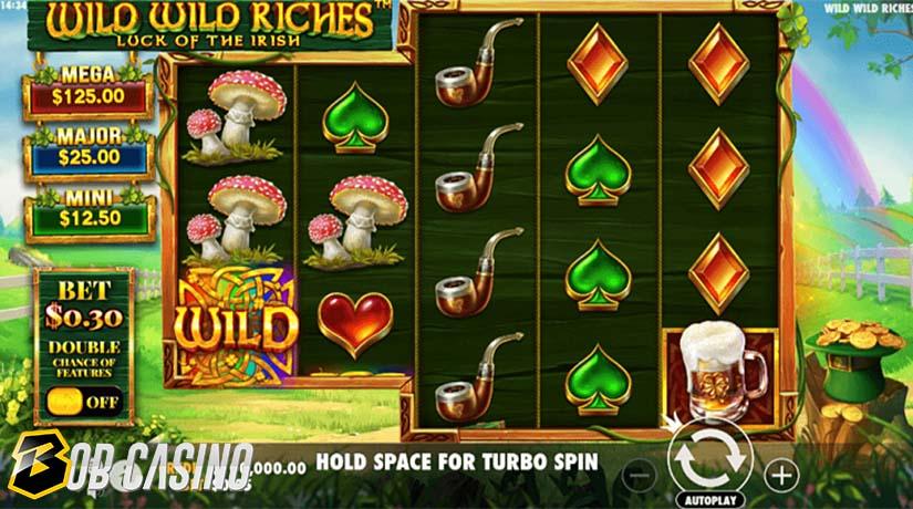 Wild Symbols in Wild Wild Riches Slot