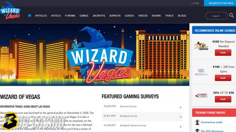 The Wizard of Vegas gambling forum