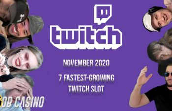 November 2020 Fastest-Growing Twitch Slot Streamers