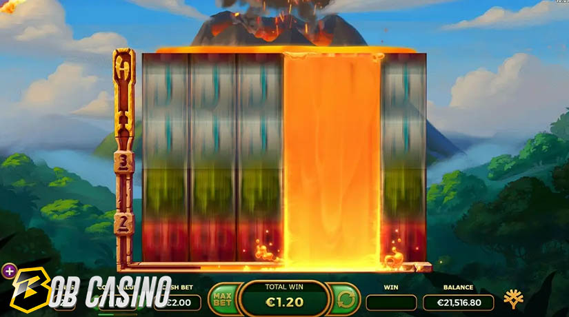 Volcana Burst in Hyper Burst Slot